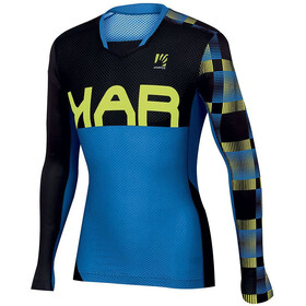 Karpos Jump LS Jersey Men bluette/black/yellowfluo